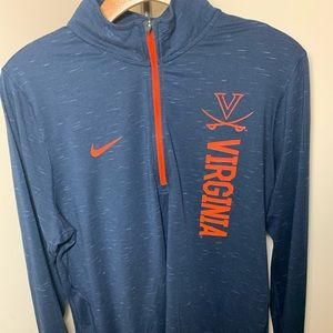 UVA Nike women's zip up dry fit, worn once!
